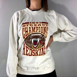1991 Redskins/Taz sweatshirt